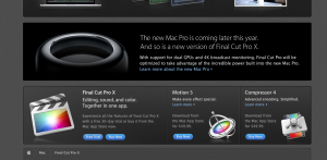 Even Apple.com is telling us there will be a new version of FCPX this year.