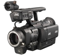 The newest JVC 4K camera supports MFT lenses and is under $4,000 USD
